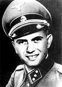 Dr Joseph Mengele, the 'Angel of Death'
